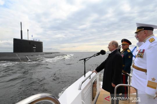 Putin: AL Rusia bisa menyerang jika diperlukan