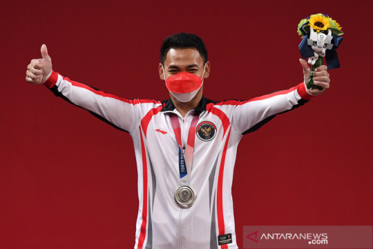 Eko Yuli Irawan sumbang perak untuk Indonesia di Olimpiade Tokyo