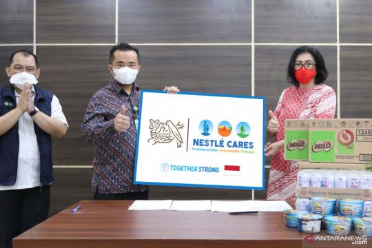 RSD COVID-19 Wisma Haji terima bantuan ribuan makanan dan alat medis