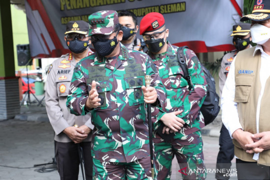 Panglima TNI: Lokasi isoter upaya pemerintah berikan pelayanan terbaik