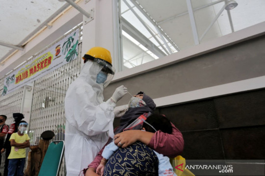 Kasus aktif COVID-19 Bandung meningkat 2 hari terakhir