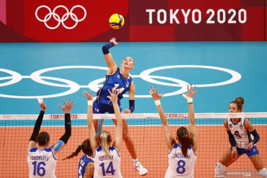 Bola voli putri Italia kalahkan ROC 3-0