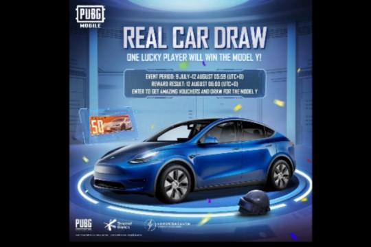PUBG Mobile bakal realisasikan harapan penggemar miliki Tesla