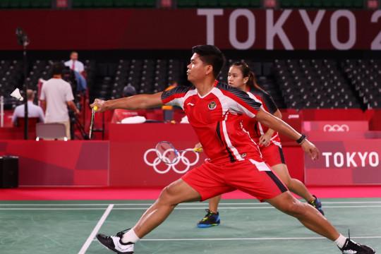 Praveen/Melati bertemu unggulan teratas di perempat final Olimpiade