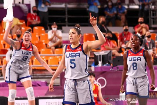Amerika Serikat pastikan jejaki semifinal 3x3 putri Olimpiade Tokyo