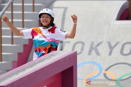 Klasemen medali Olimpiade hari ini: tambah tiga emas, Jepang ke puncak