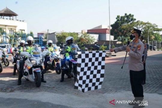 Polres Bekasi kerahkan tim patroli vaksin