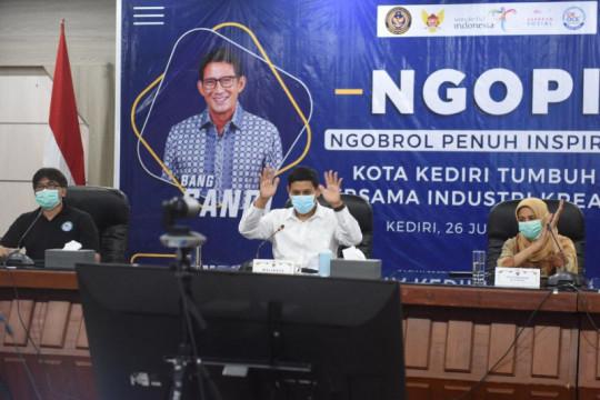 Menparekraf dukung wisata dan industri kreatif di Kediri dikembangkan
