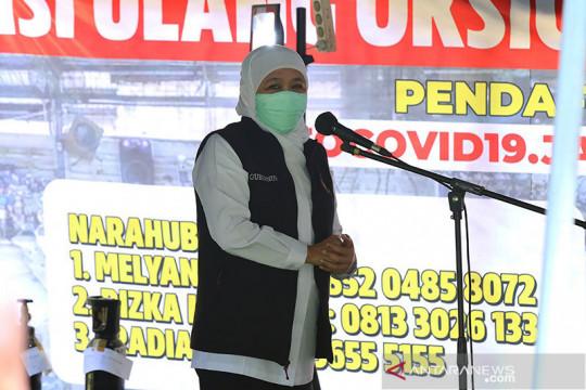 Gubernur Jatim sebut BOR rumah sakit mulai menurun