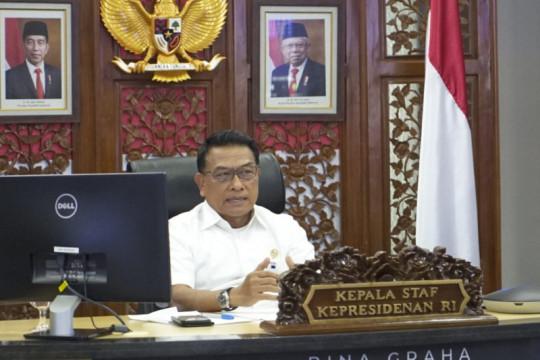 """Moeldoko sebut visi """"The Service City"""" Kota Kediri sesuai jalur"""