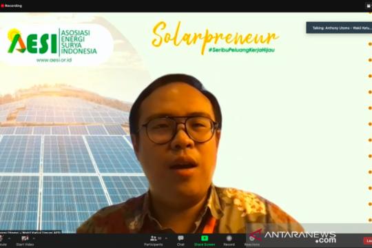 Pertumbuhan sel surya di Indonesia capai 486 persen dalam tiga tahun