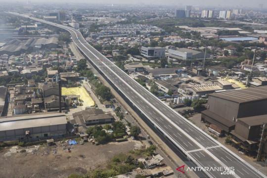 Pembangunan tol layang dalam kota Kelapa Gading-Pulo Gebang ditargetkan selesai Juli 2021
