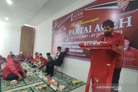 Partai Aceh memberhentikan mantan Ketua DPRA dari kepengurusan