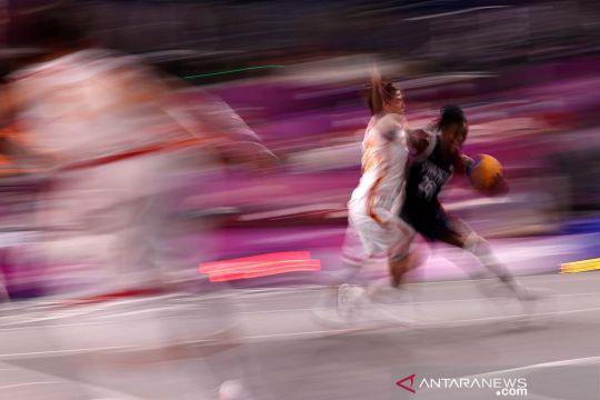 Bola Basket 3x3: China kalahkan Prancis 20-13