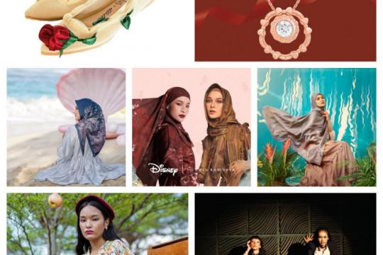 Kolaborasi Disney dengan brand lokal ciptakan ragam produk fashion