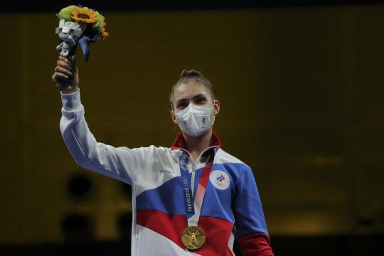 Atlet Rusia ingin lepas dari bayangan ayah usai rebut emas Olimpiade