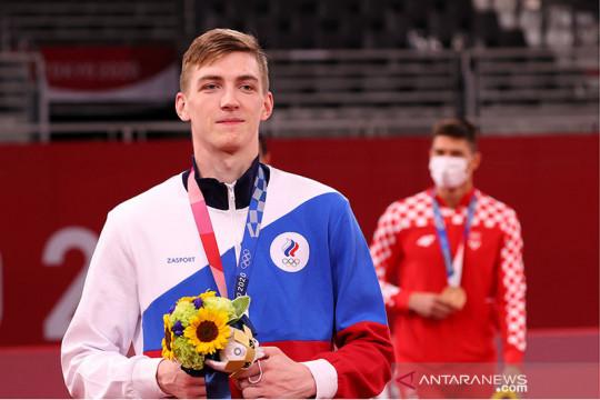 Taekwondoin Rusia persembahkan emas Olimpiade untuk mendiang ibu