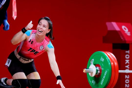 Lifter Taiwan Kuo Hsing-Chun rebut emas kelas 59kg putri