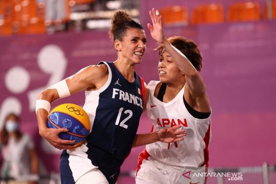 Prancis ciptakan laga akbar lawan Amerika di semifinal 3x3 putri