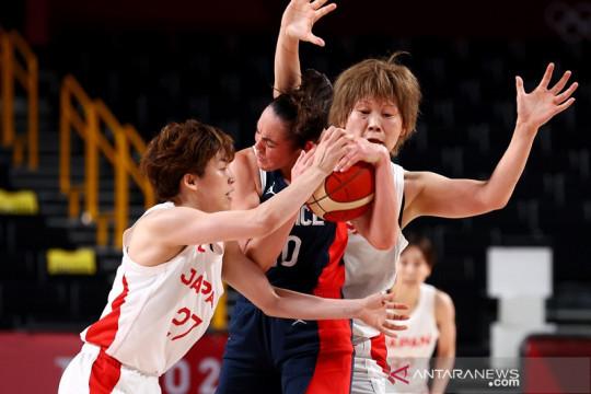 Basket putri Jepang jungkalkan Prancis, Amerika atasi Nigeria