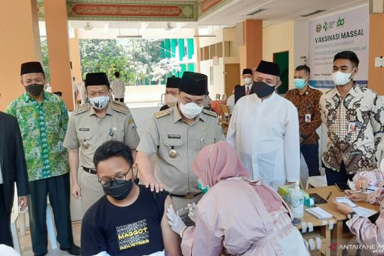 Wagub DKI apresiasi gerakan vaksin santri di Pesantren Darunnajah
