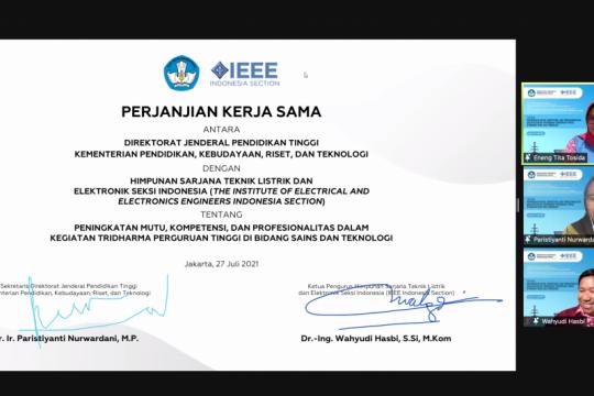 Ditjen Dikti gandeng IEEE perkuat SDM bidang keteknikan