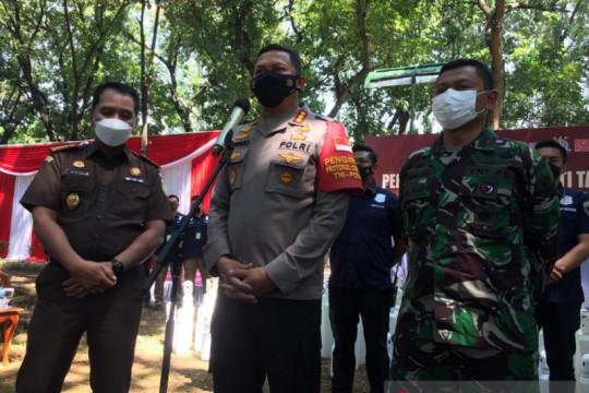 Polrestro Jakpus telusuri 2.000 tabung oksigen diimpor secara ilegal