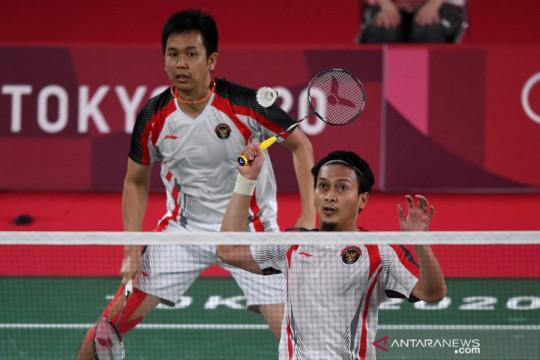 Ahsan/Hendra melaju ke babak perempat final bulu tangkis Olimpiade Tokyo 2020
