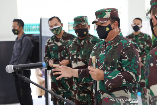 "Panglima TNI pastikan prajuritnya siap bertugas jadi ""tracer"" COVID-19"