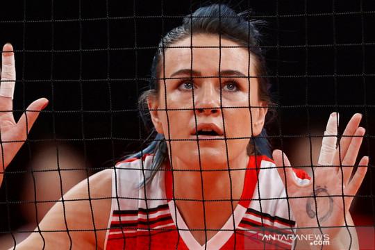 Mengenal Meryem Boz  atlet voli berjuluk Blue Lightning dari Turki