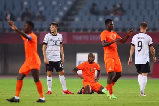 Jerman gagal lolos ke perempatfinal usai diimbangi Pantai Gading 1-1