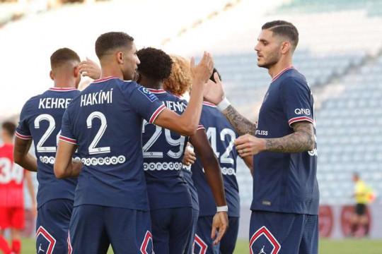 PSG imbang 2-2 lawan Sevilla dalam laga persahabatan pramusim