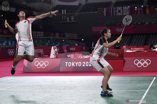 Praveen/Melati terhenti pada perempat final Tokyo 2020