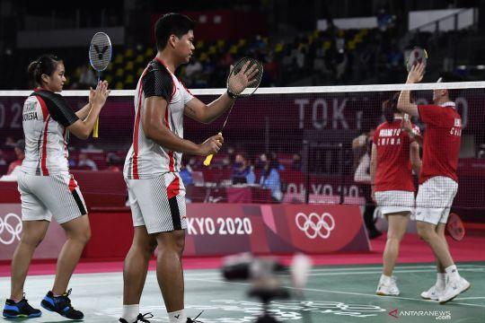 Praveen/Melati melaju, Rinov/Pitha kandas di babak pertama French Open