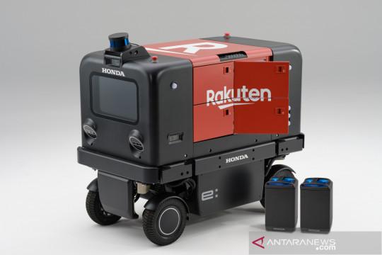 Honda & Rakutenuji coba robot pengiriman otomatis