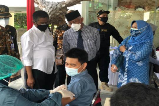 1.000 pelaku IKM di Sleman jalani vaksinasi COVID-19 dosis kedua