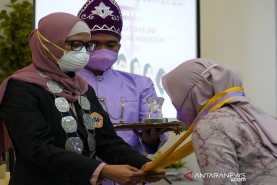 Universitas Lambung Mangkurat cetak 20 dokter gigi selama pandemi
