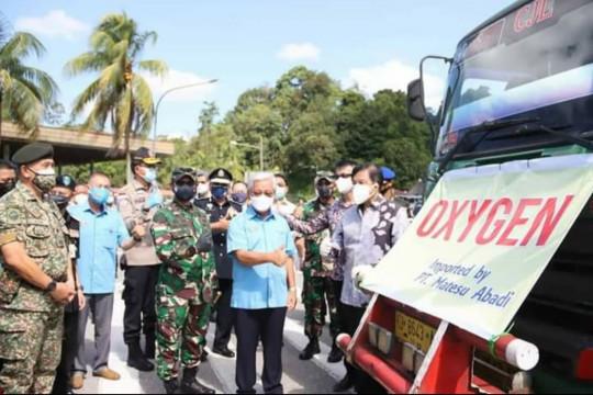 Pangdam XII/Tpr apresiasi pemerintah Malaysia bantu oksigen Kalbar