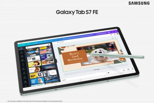 Samsung Galaxy Tab S7 FE 5G hadir untuk asah kreativitas kaum milenial