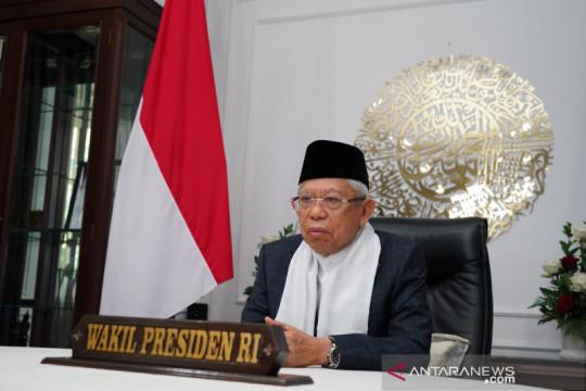 Wapres sayangkan Indonesia masih impor produk makanan halal
