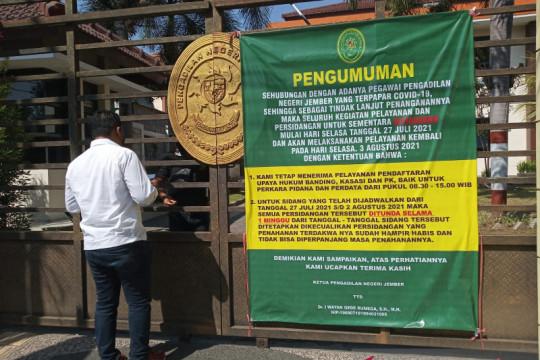 PN Jember tutup sementara setelah 7 pegawai terpapar COVID-19