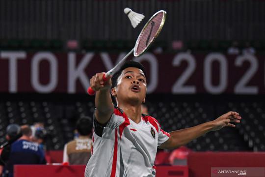 Ginting kemas kemenangan kedua di penyisihan Grup J Olimpiade Tokyo