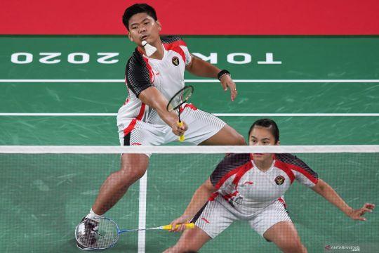 Olimpiade Tokyo 2020 : Ganda campuran Indonesia lawan China