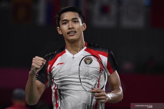 Jonatan ungguli Pranoy menuju babak kedua Denmark Open