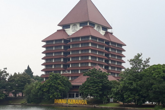 UI perguruan tinggi terbaik di Indonesia versi webometric 2021