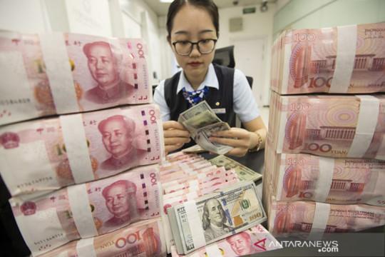Yuan melambung 340 basis poin menjadi 6,4602 terhadap dolar AS