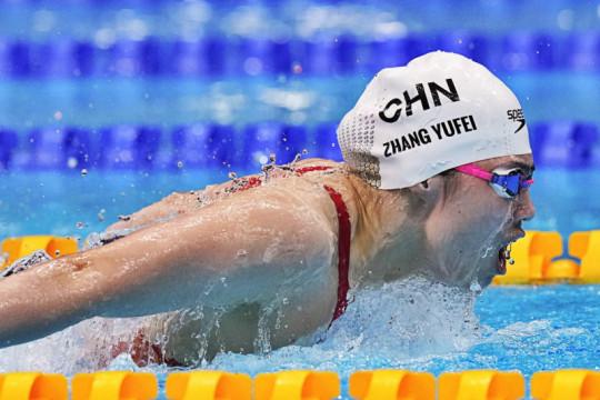 """Ratu kupu-kupu"" China catatkan rekor Olimpiade renang 200m"