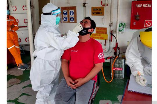 Saat pandemi, KKP Kupang karantina 43 kapal kargo di tengah laut