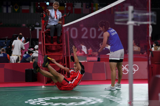 Olimpiade Tokyo: Gregoria Mariska kalah