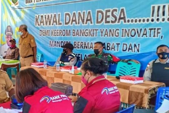 Satgas TNI-Polri kawal penyaluran dana desa di perbatasan RI-PNG
